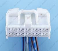 Разъем электрический 24-х контактный (28-12) б/у, фото 1