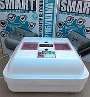 Инкубатор Рябушка Smart 70 (аналоговый, ручной, ИK нагреватель), фото 1