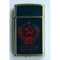 Зажигалка СССР красная