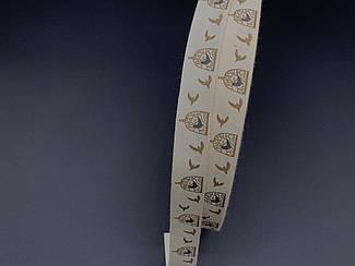 Стрічка декоративна з візерунком. Birds. 2см