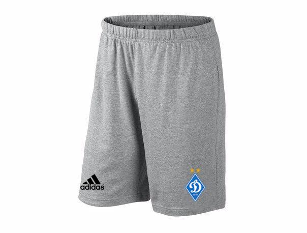 Мужские футбольные шорты Динамо, Dynamo, серые, фото 2