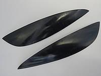 Ресницы на автомобильные фары Шевроле Лачетти седан №1 Spirit. Тюнинговые накладки на фары Chevrolet Lacetti