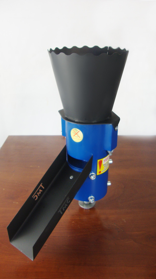 Рабочая часть(голова)  гранулятора (100мм). Сделать гранулятор своими руками.
