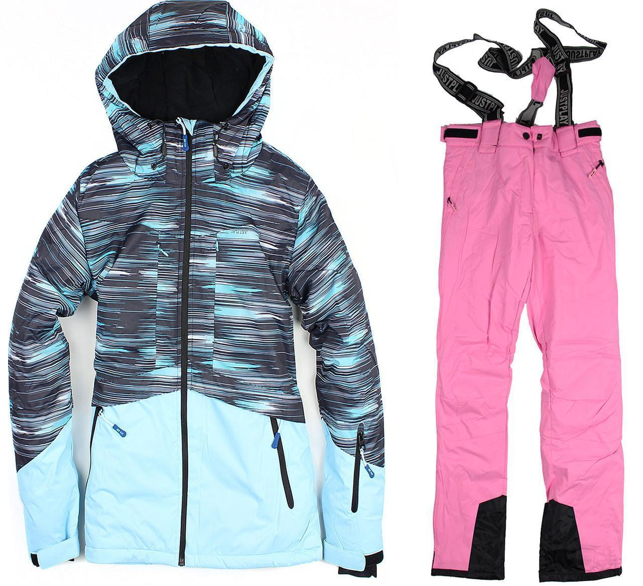 Лыжный костюм BLUE-PINK