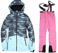 Лыжный костюм BLUE-PINK, фото 1