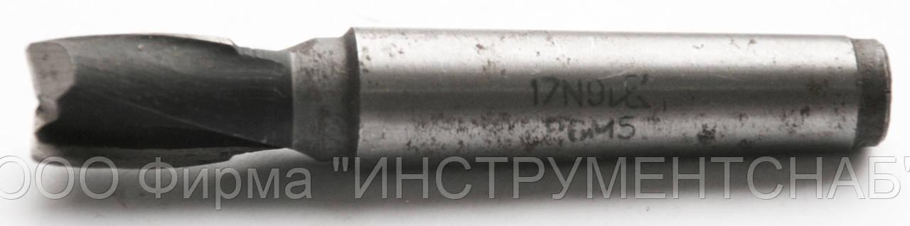 Фреза шпоночная 14,0 мм, к/х, Р6М5, (92/16 мм, КМ-1)