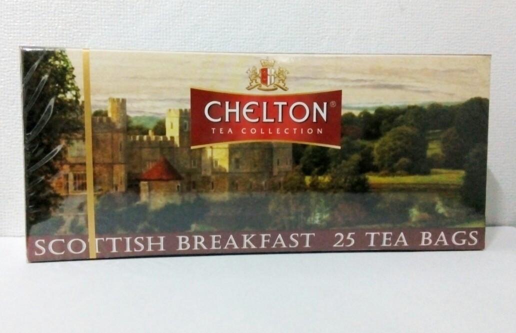 """Чай """"Chelton"""" Шотландский завтрак 25 пакетиков"""