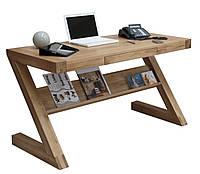 Стол письменный компьютерный из массива дерева 063
