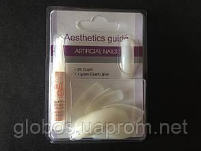 Накладные искусственные ногти GLOBOS N-PS8S, фото 3