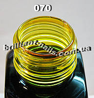 Витражный краситель 070, Желтый, 2мл