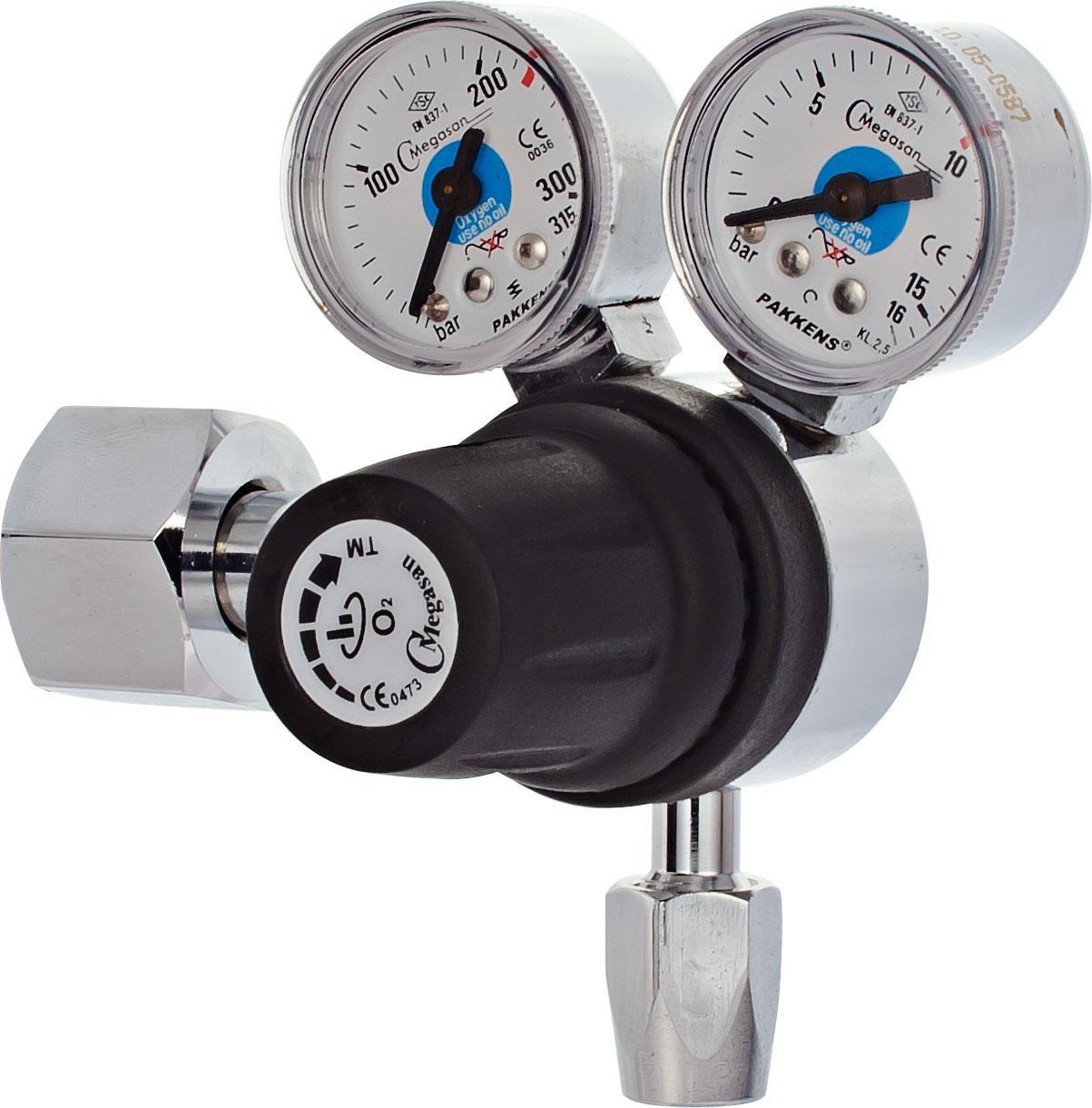 Регулятор высокого давления балонный, кислород