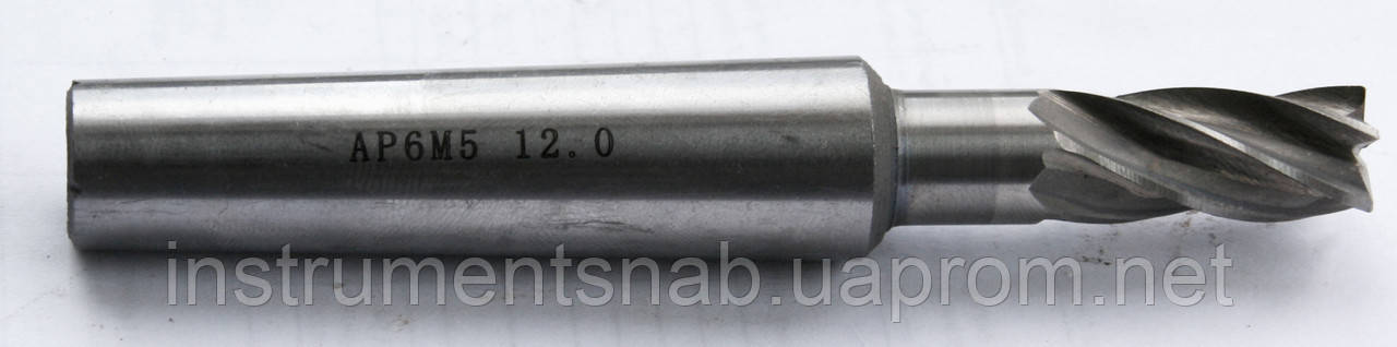 Фреза концевая 10 мм, к/х, Р6М5, Z-5, 92/22 мм, КМ-2