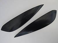 Ресницы на автомобильные фары Шевроле Лачетти седан №2 Spirit. Тюнинговые накладки на фары Chevrolet Lacetti