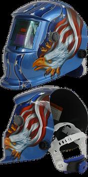 Сварочная маска 9-13 DIN BLUE