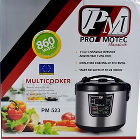 Мультиварка Promotec pm 523, 11 програм, 5 л