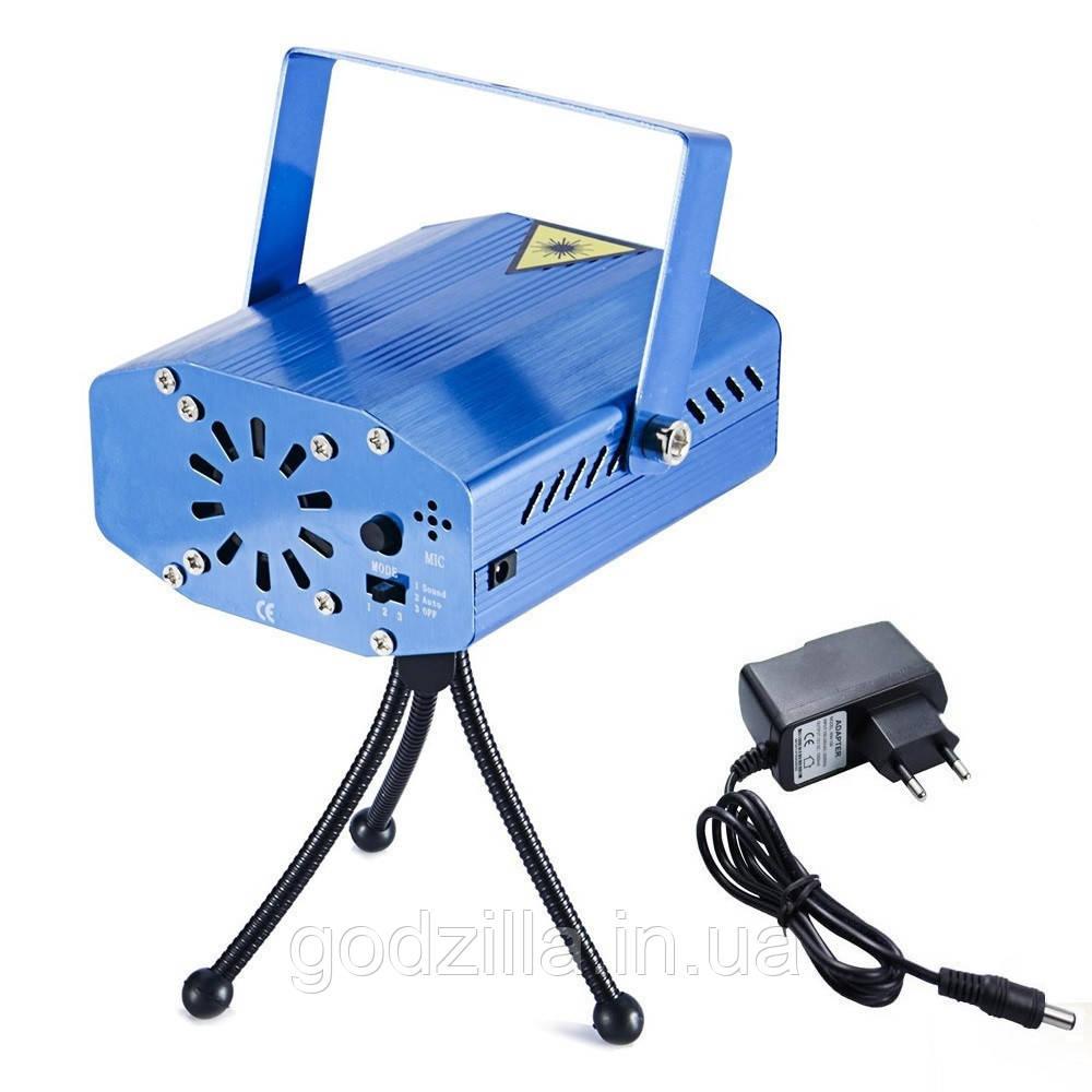 Лазерный проектор с звукоизоляционным датчиком