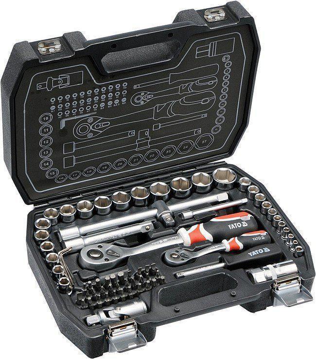 Набор ключей YATO YT-38782 72 шт