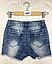 Джинсовые шорты для девочек, Венгрия, F&D, арт. 1073, 158-164, фото 2