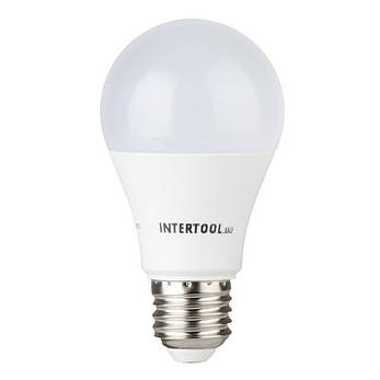 Светодиодная лампа LED 12Вт, E27, 220В, INTERTOOL LL-0015, фото 2