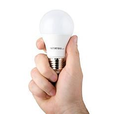 Светодиодная лампа LED 12Вт, E27, 220В, INTERTOOL LL-0015, фото 3