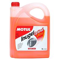 Антифриз концентрат Motul G12+ Inugel Optimal Ultra (оранжевый) 5л