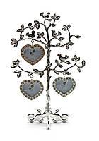 """Фоторамка """"дерево"""" (3 фото)(22,5х15х8,5 см)(9748a)"""