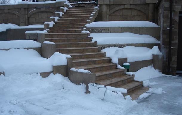 Уличный обогрев Nexans Defrost Snow TXLP/2R, 28 Вт/м