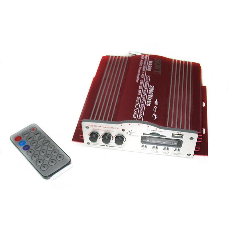 Усилитель звука MA 200, 4-х канальный