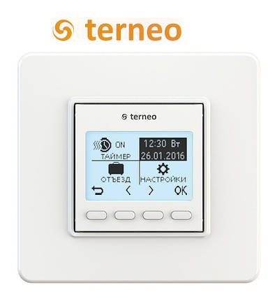 Терморегулятор для теплого пола Terneo PRO (программируемый), Украина, фото 2