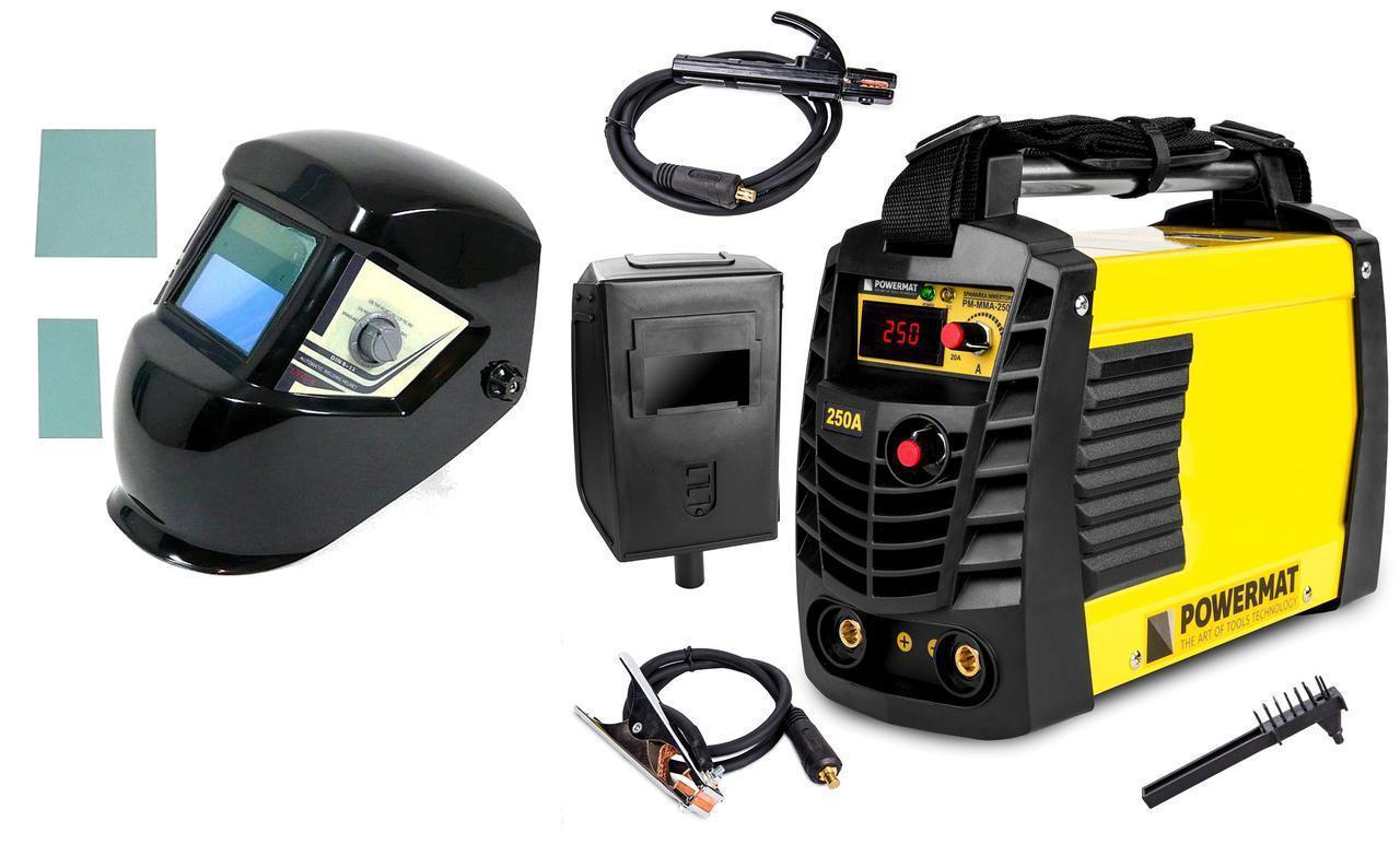 Сварочный аппарат POWERMAT PM-MMA-250SP