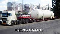 Международные перевозки негабаритных грузов Украина - Румыния. Аренда трала. Негабарит