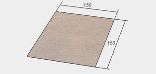 Слюда для мікрохвильової печі універсальна 15x15 см
