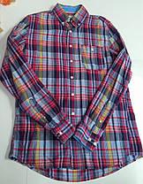 Рубашка мужская 100% коттон, фото 2