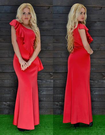 Платье в пол дайвинг, фото 2
