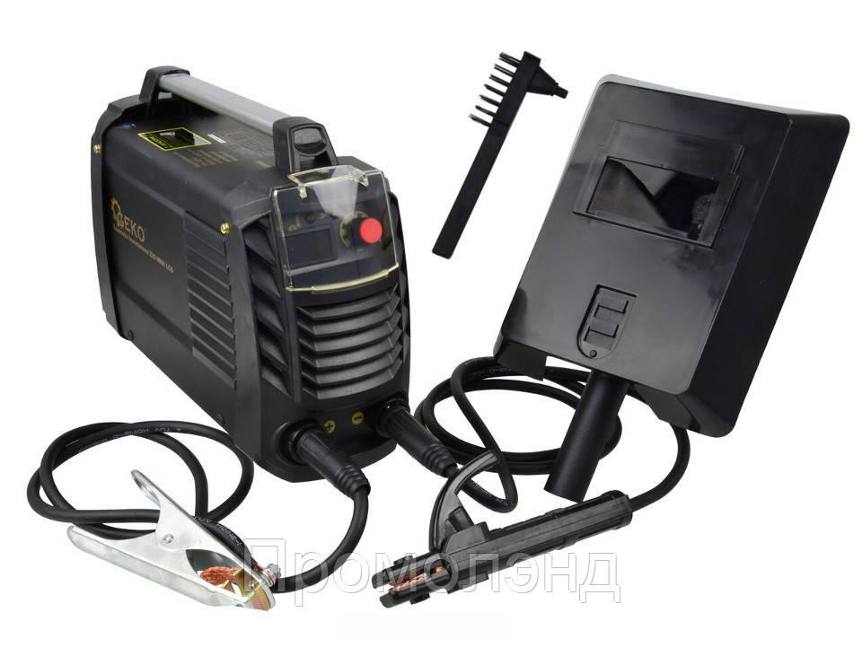 Сварочный аппарат GEKO 200 MMA LCD