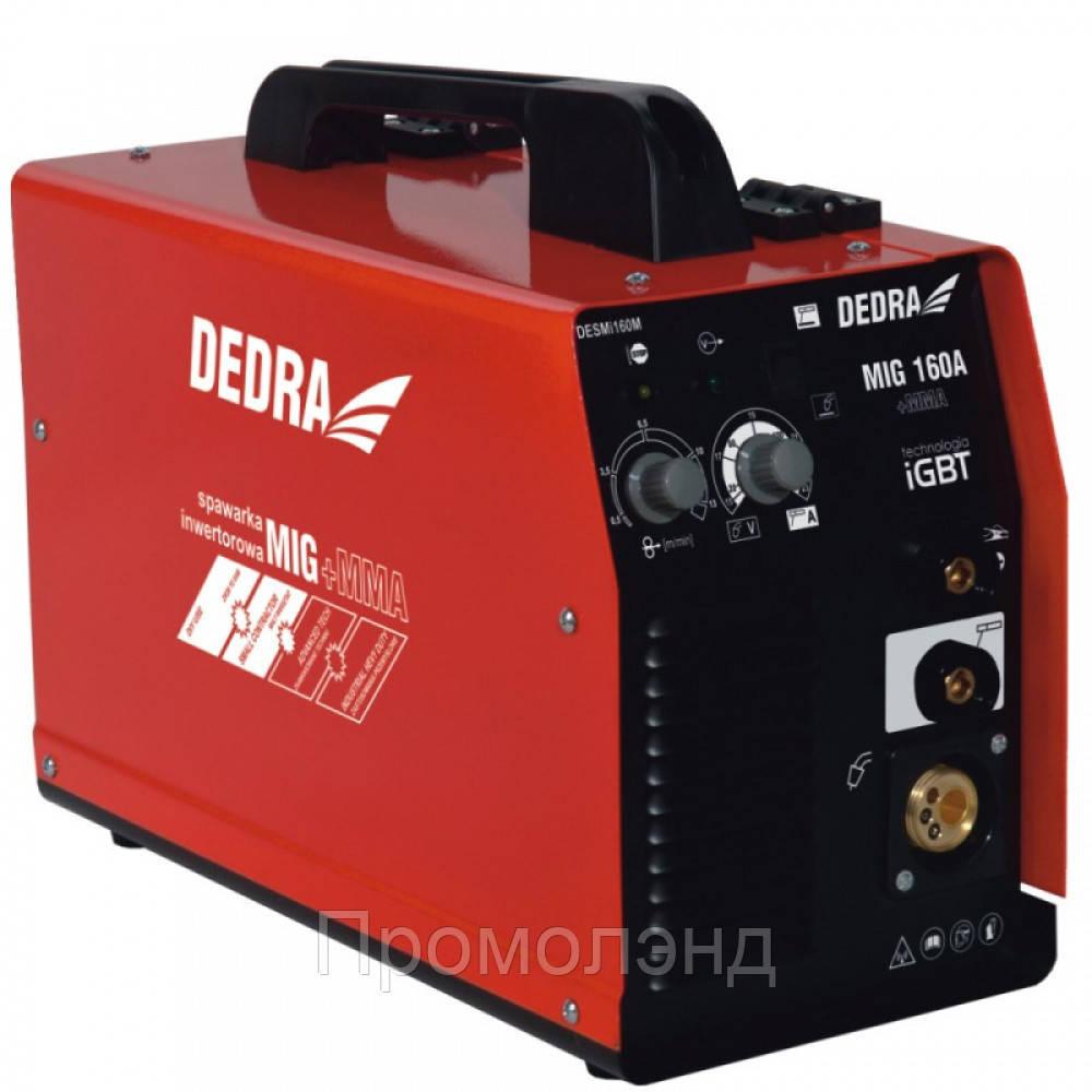 Сварочный аппарат DEDRA DESMI160M