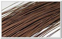 Стебель проволка коричневый 0,5 мм 20 шт