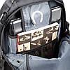 Рюкзак дорожный Intertool 3 отделения, 30 л. на колесах с телескопической ручкой INTERTOOL BX-9024, фото 3