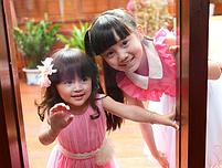 Дитяче сукню з комірцем ., фото 3