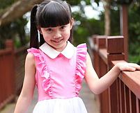 Дитяче сукню з комірцем ., фото 4