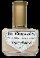 """Препарат для укрепления ногтей """"Железная Сила"""" (матовый)№ 432 Iron Force El Corazon"""