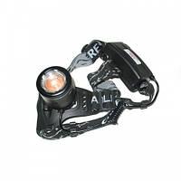 Аккумуляторный фонарь Police BL-2177-T6 с зумом Налобный Универсальный осветительный прибор Купить Код: КГ7346