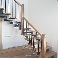 Перила и ограждение для лестницы и балкона. Деревянные перила для лестниц на заказ. Ограждения из металла.