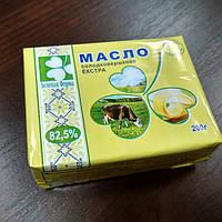 Масло солодко вершкове Зелена Ферма 82,5% 200г, Україна