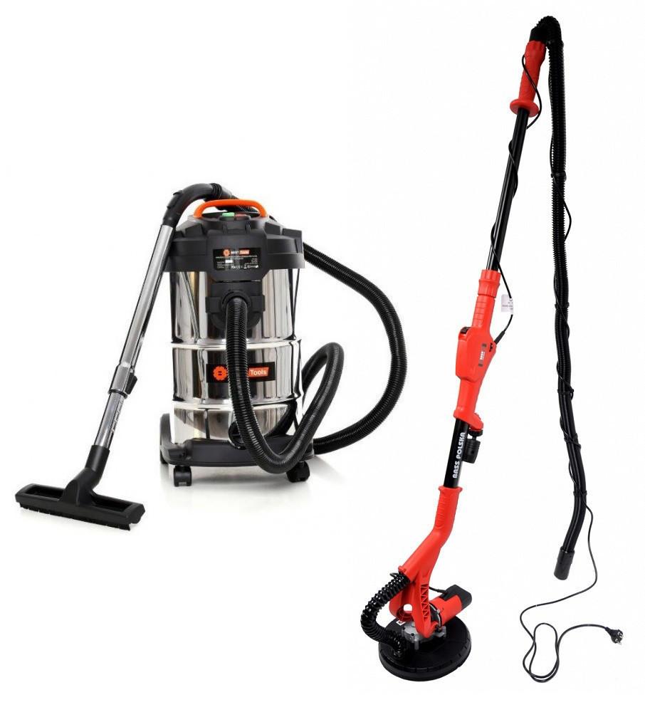 Шлифовальная машина BASS POLSKA BP-5460 + Пылесос BEST Tools OW1230AOF