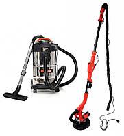 Шлифовальная машина BASS POLSKA BP-5460 + Пылесос BEST Tools OW1230AOF, фото 1