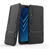 Чехол для Samsung A750 / A7 2018 Hybrid Armored Case черный