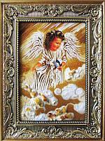 Икона из янтаря Ангел (Картины и иконы из янтаря)