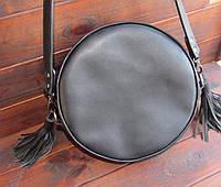 Женская кожаная сумка. Ручная работа