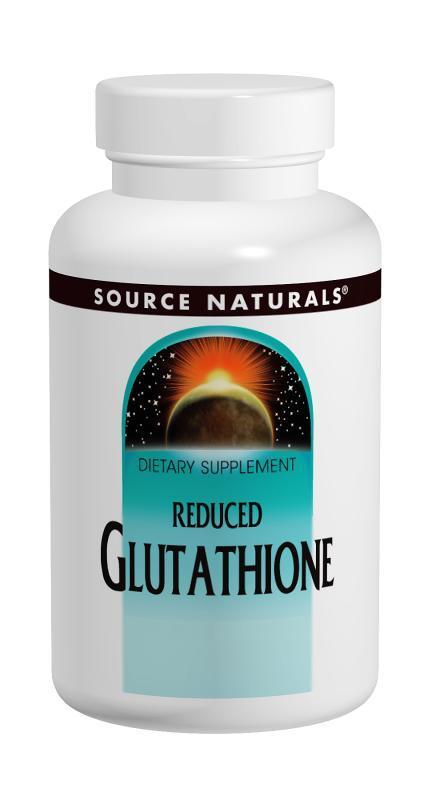 Комплекс Глутатіону 50 мг, Source Naturals, 100 таблеток для розсмоктування